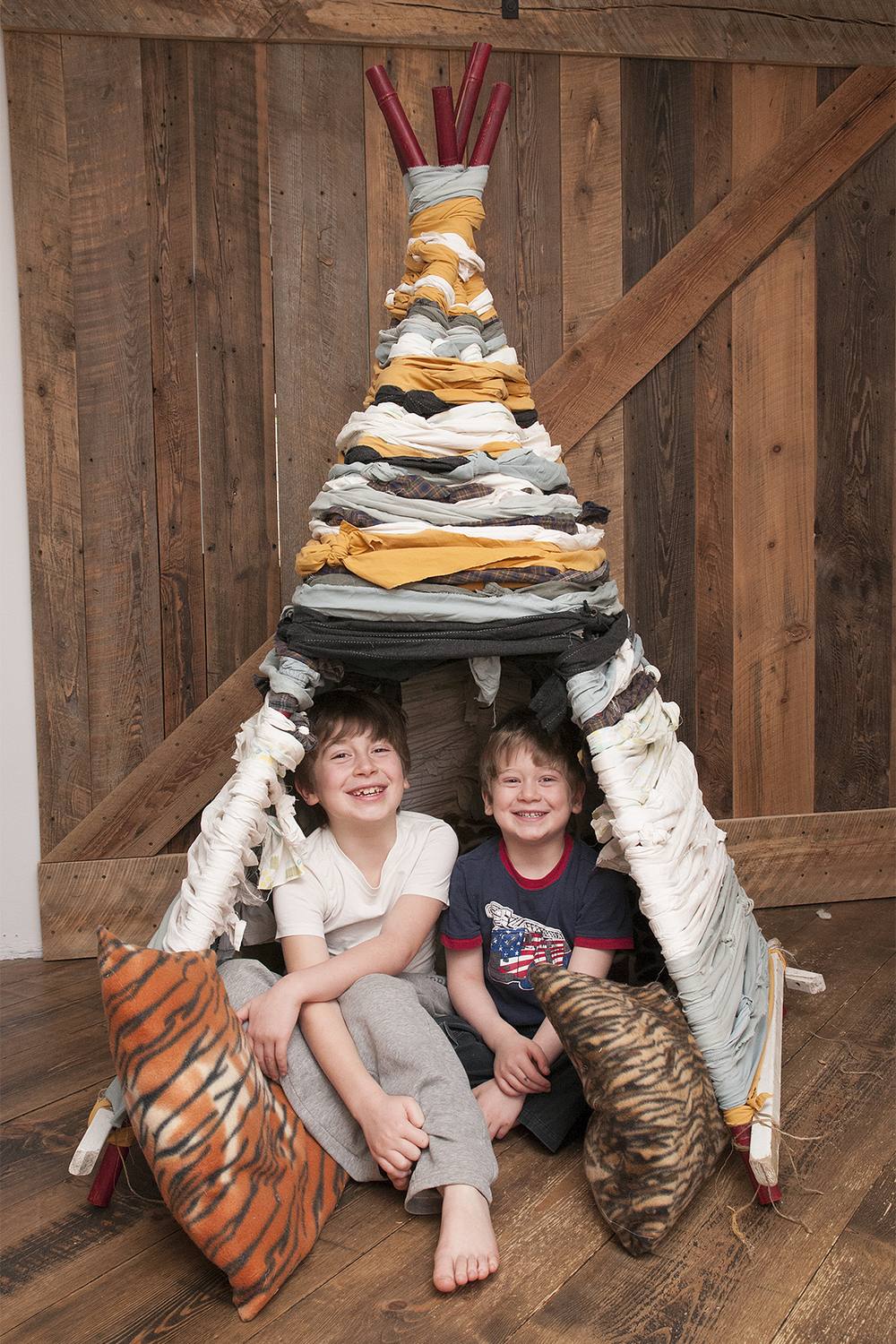 Teepee for the kids!