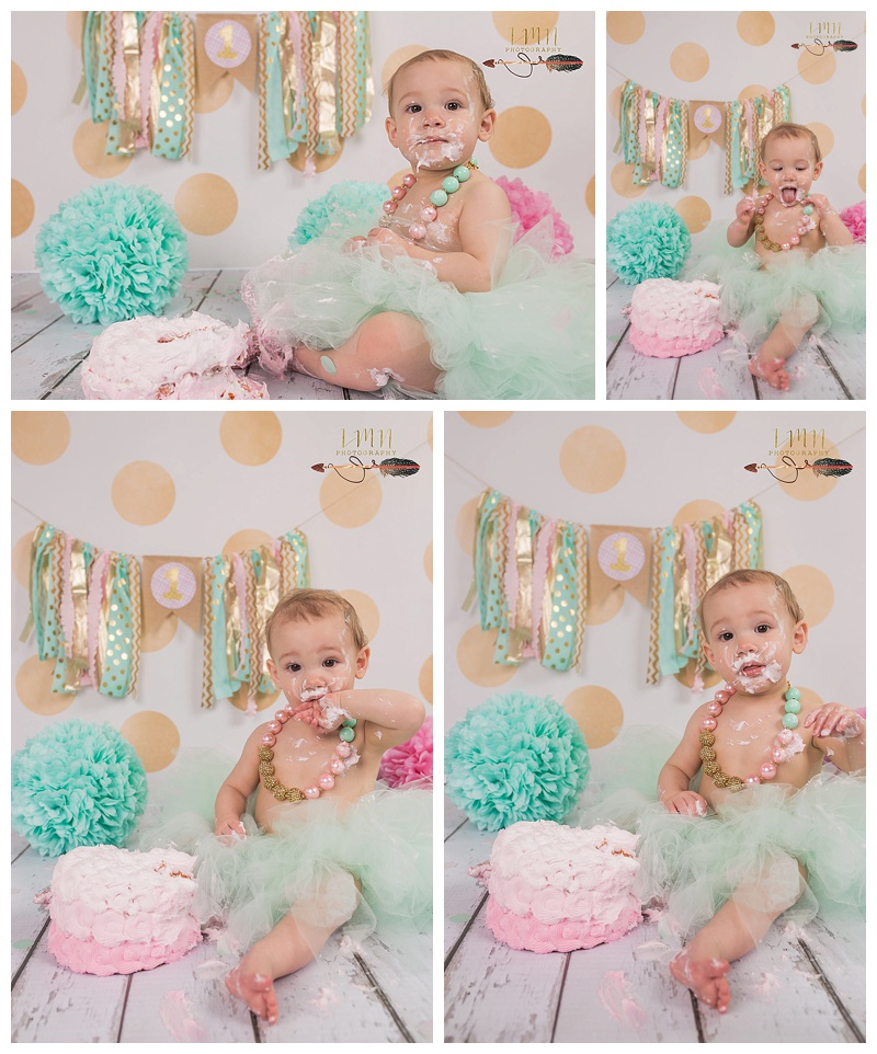 Katy TX 1st Birthday Photography