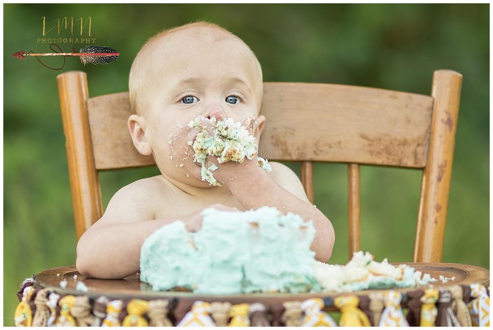 Spring TX 1st Birthday Smash Cake Session