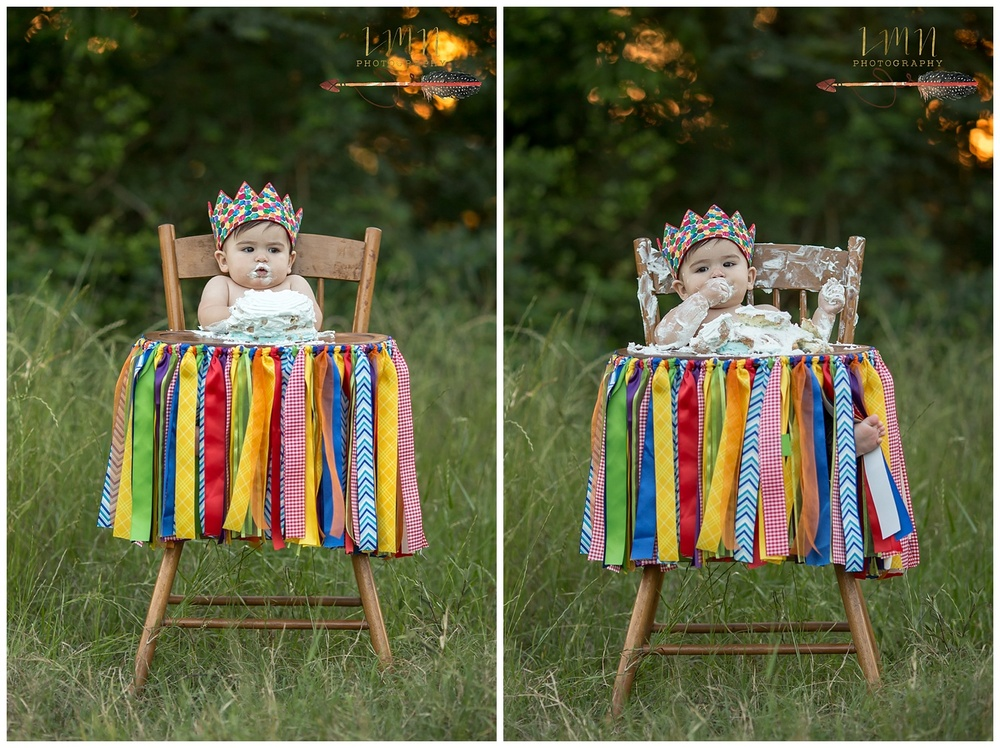 Katy Texas 1st Birthday Photographer 77494