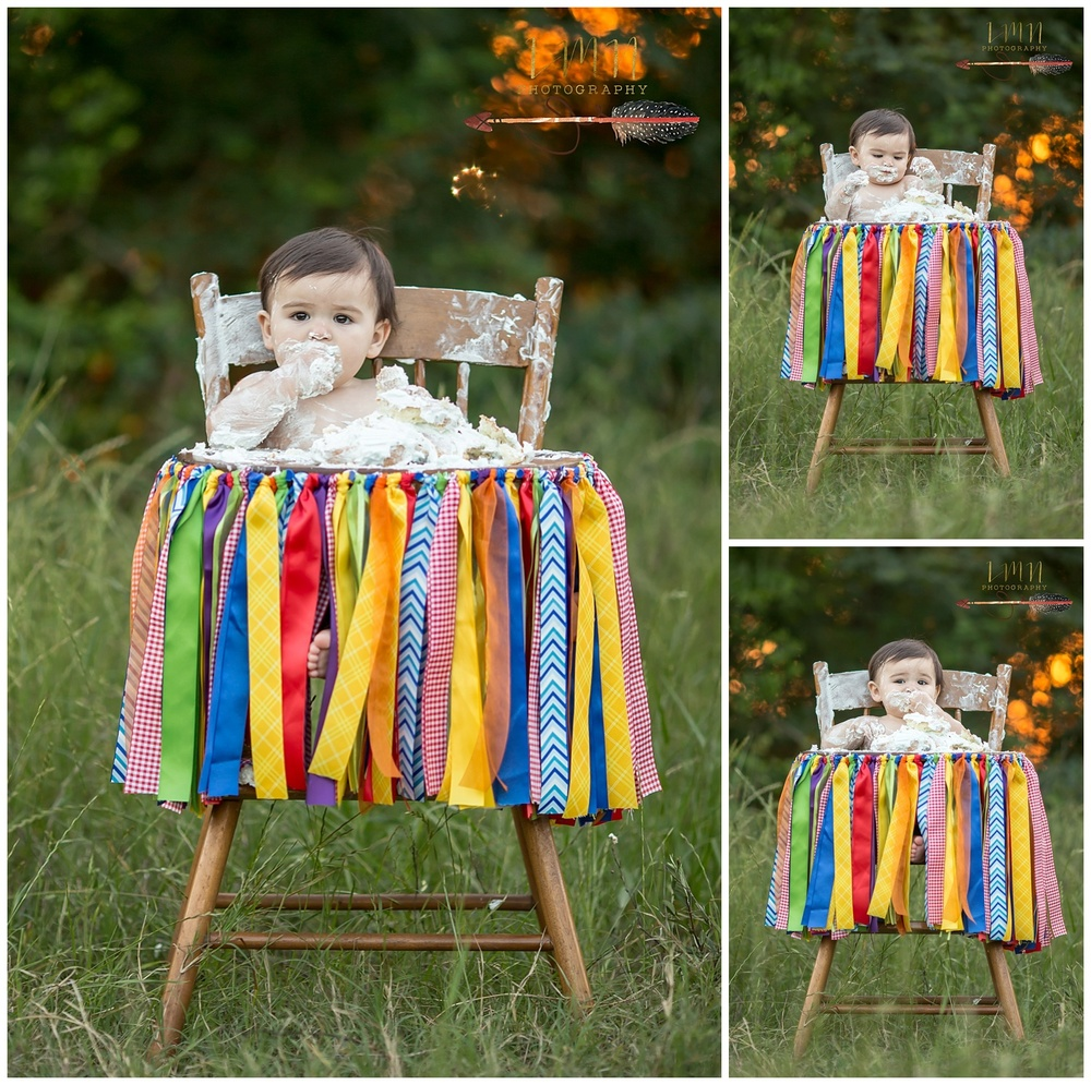 Tomball TX 1st Birthday Photographer 77377