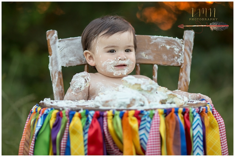 Tomball TX Cake Smash Photographer