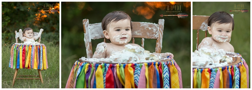 Katy TX Cake Smash Photographe