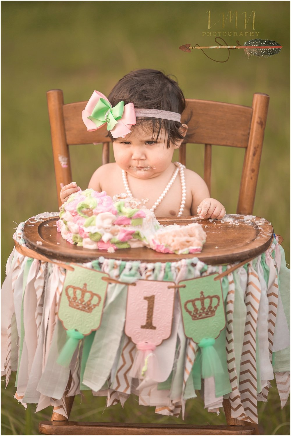 Katy TX Smash Cake Photographer