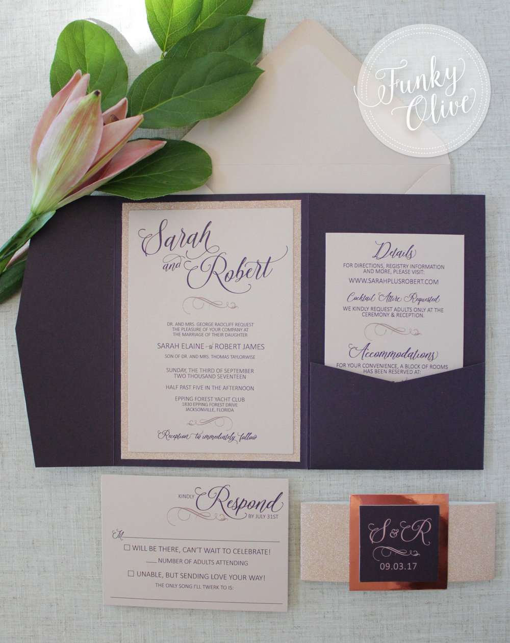 EGGPLANT & ROSE GOLD INVITATION SUITE.jpg
