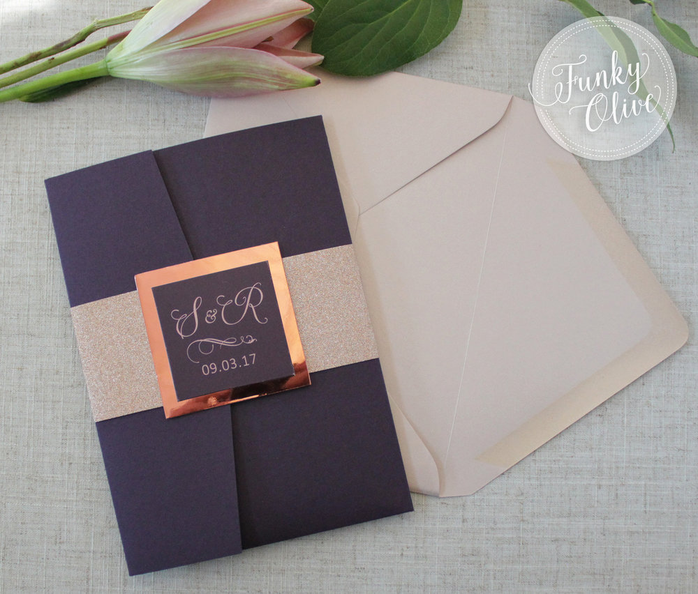 Invitation Finishing Touches 101 Belly Bands Wedding Invitations