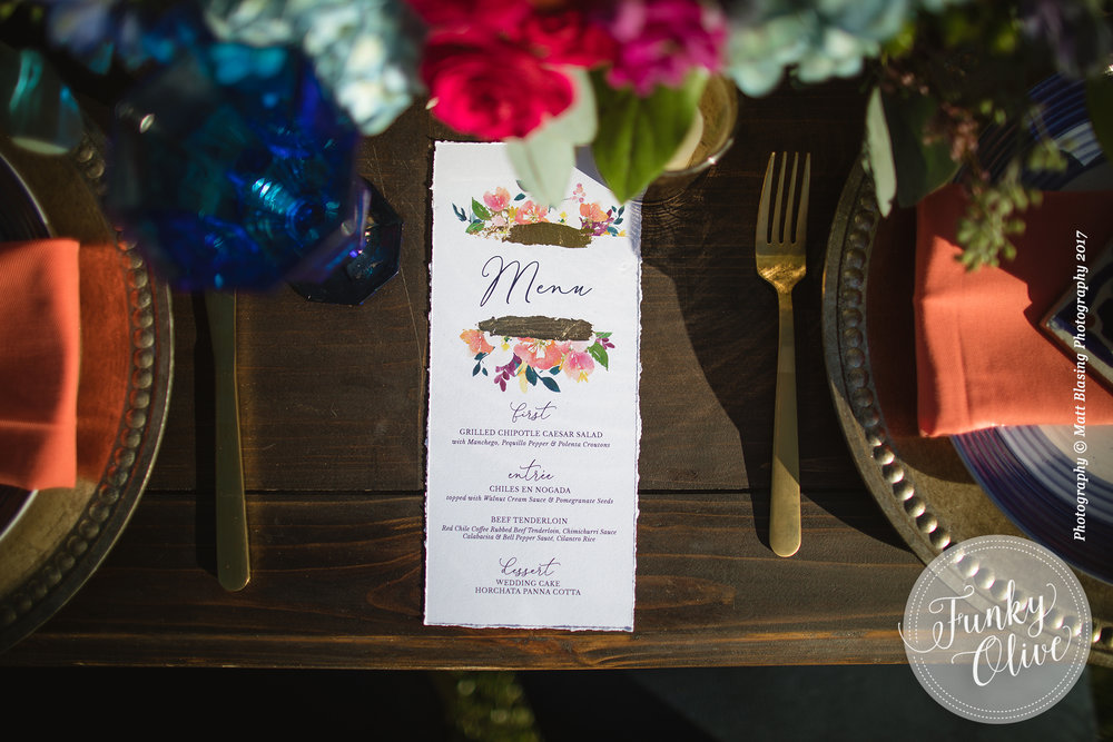 HAND PAINTED FOIL & WATERCOLOR FLOWER MENU 2.jpg