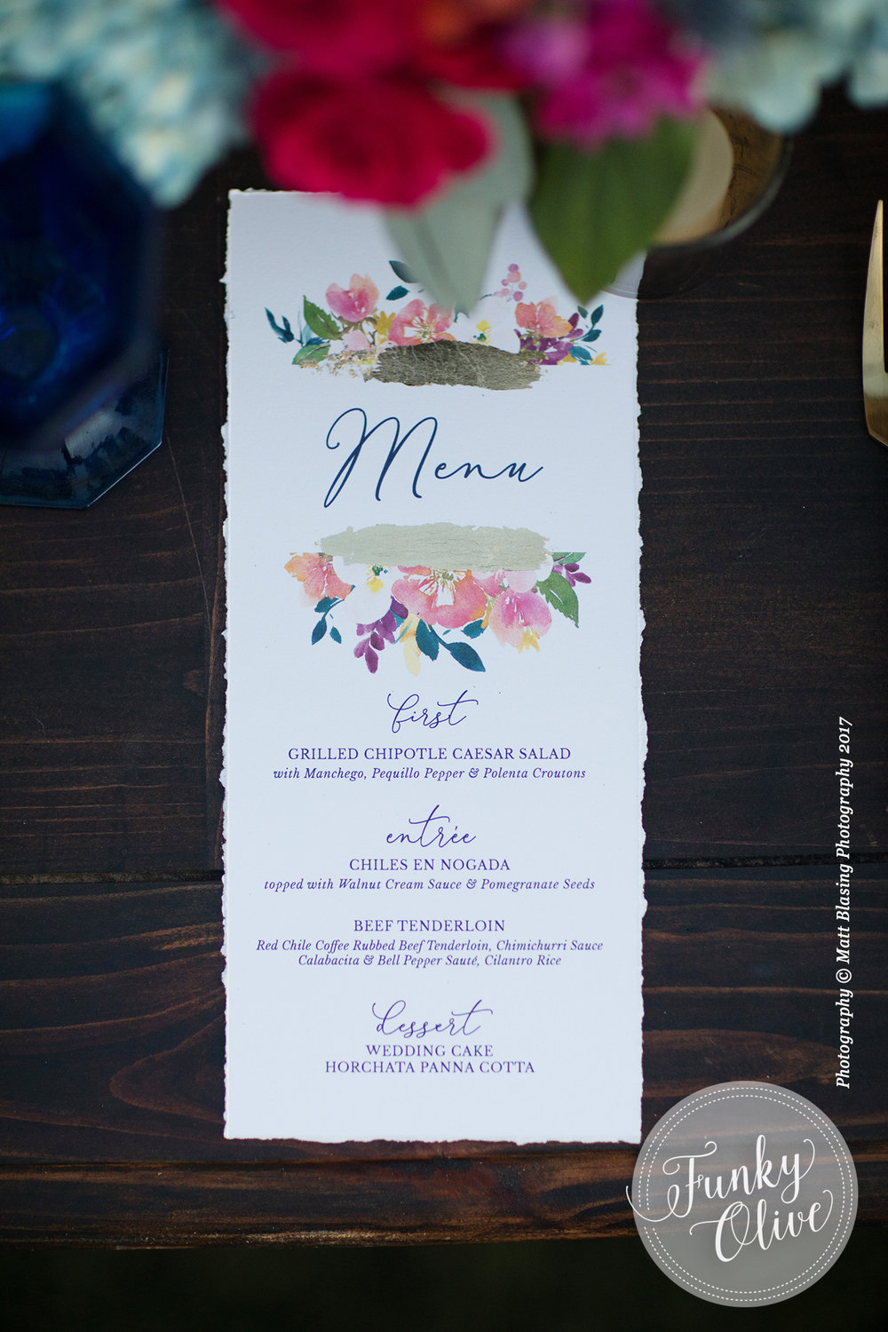 HAND PAINTED FOIL & WATERCOLOR FLOWER MENU.jpg