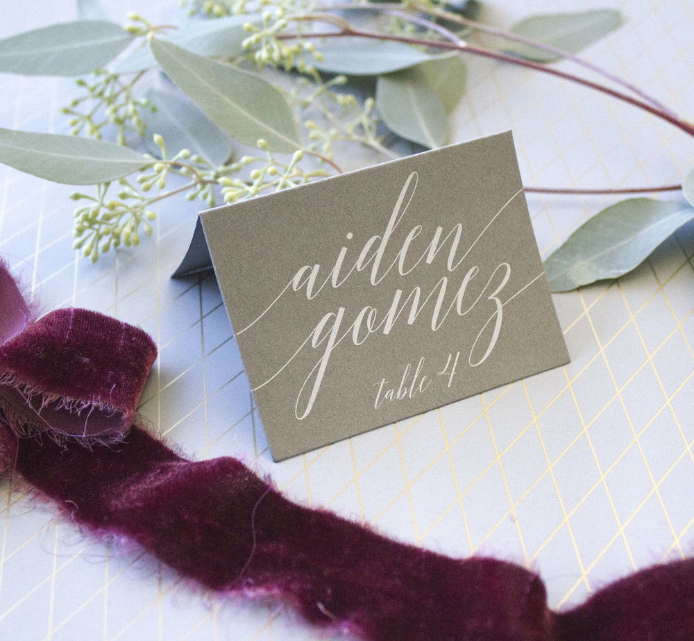 white ink on grey placecard2.jpg