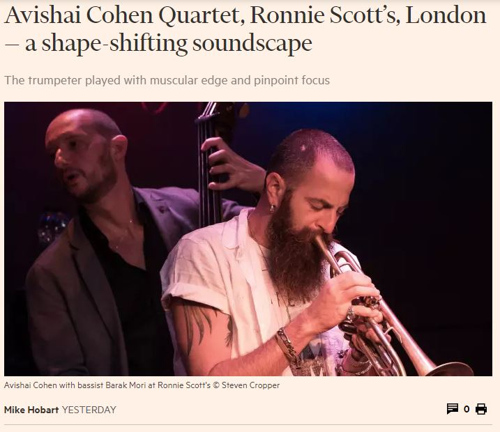 Avishai Cohen_Financial Times