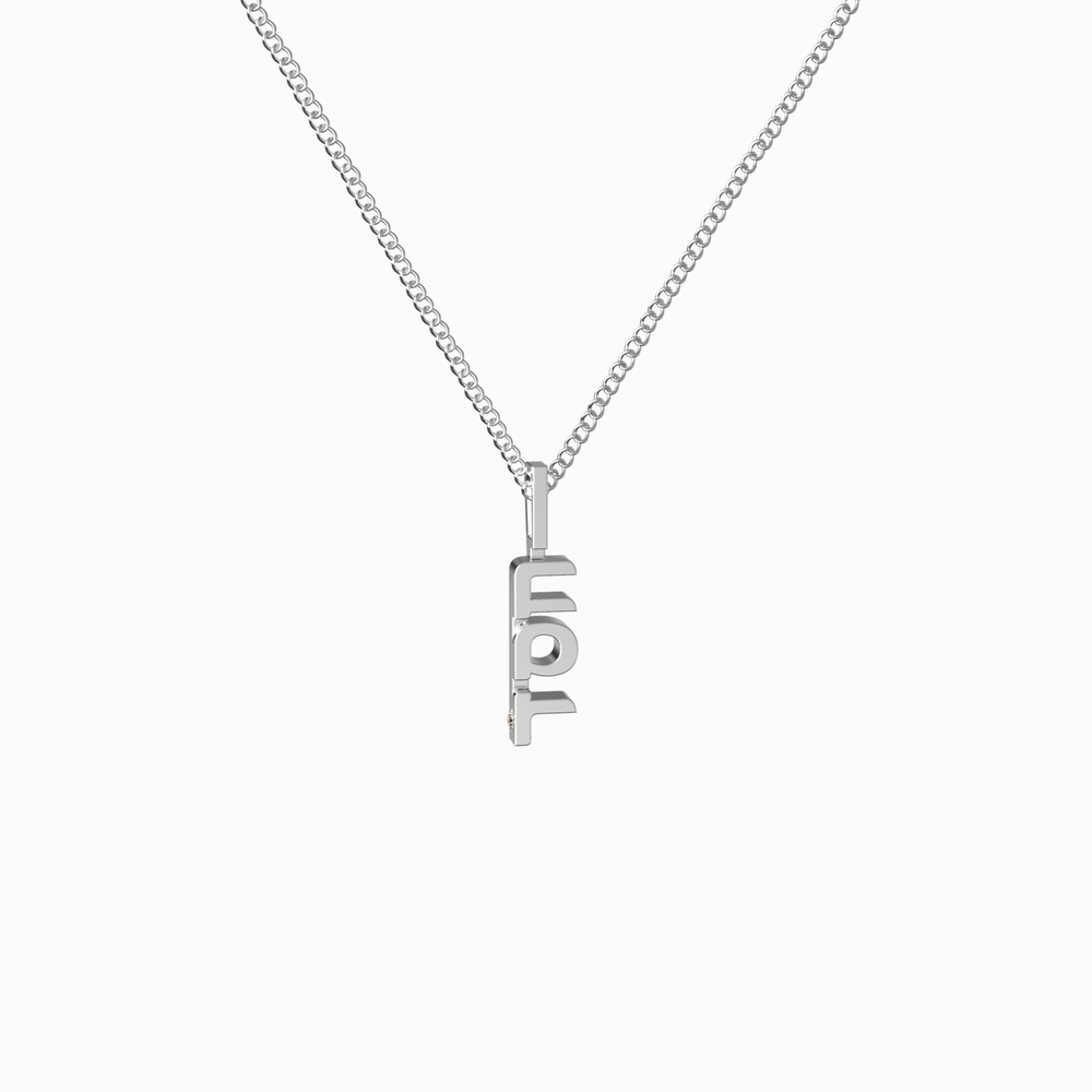 Grace Chesed necklace in silver and available in gold as well