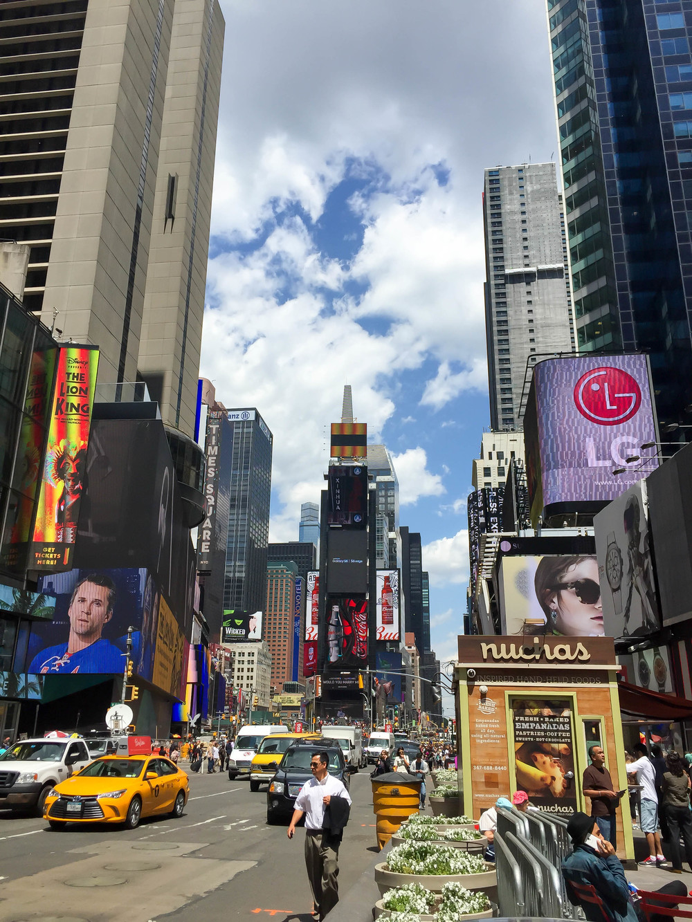 Times Square, Midtown, Manhattan, New York City, New York, USA | www.DoLessGetMoreDone.com |