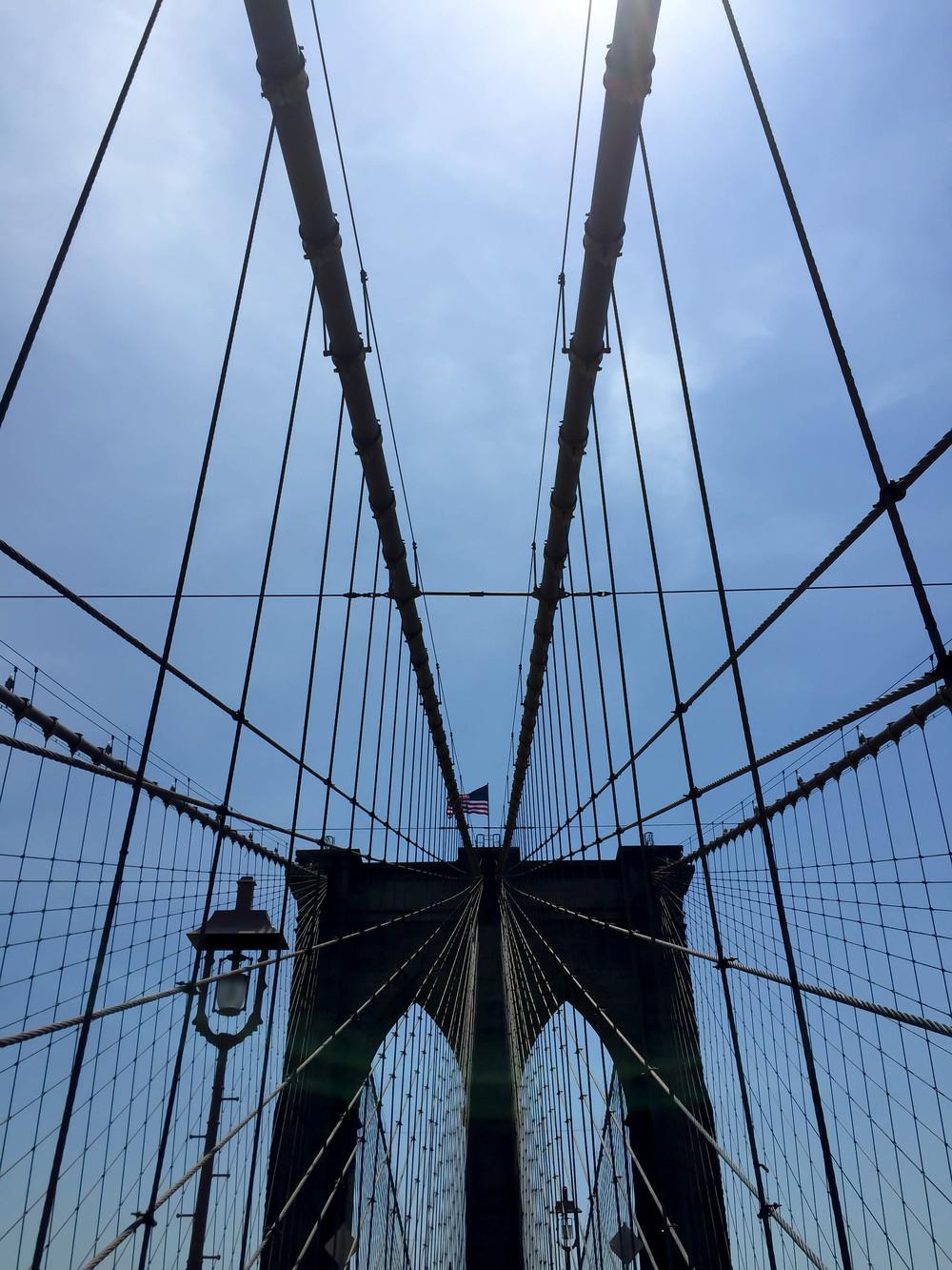 Brooklyn Bridge, Manhattan, New York City, New York, USA | www.DoLessGetMoreDone.com |