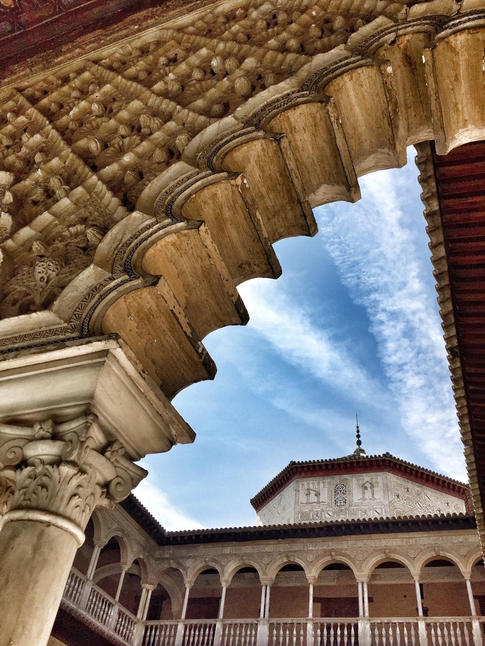 Alcazar, Seville, Andalucia, Spain, Europe | www.DoLessGetMoreDone.com |