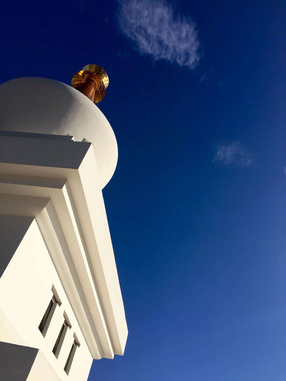 Stupa, Benalmadena, Andalucia, Spain, Europe | www.DoLessGetMoreDone.com |