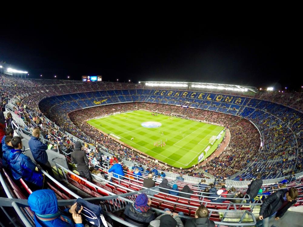Nou Camp, FC Barcelona, Barcelona, Spain,Europe | www.DoLessGetMoreDone.com |