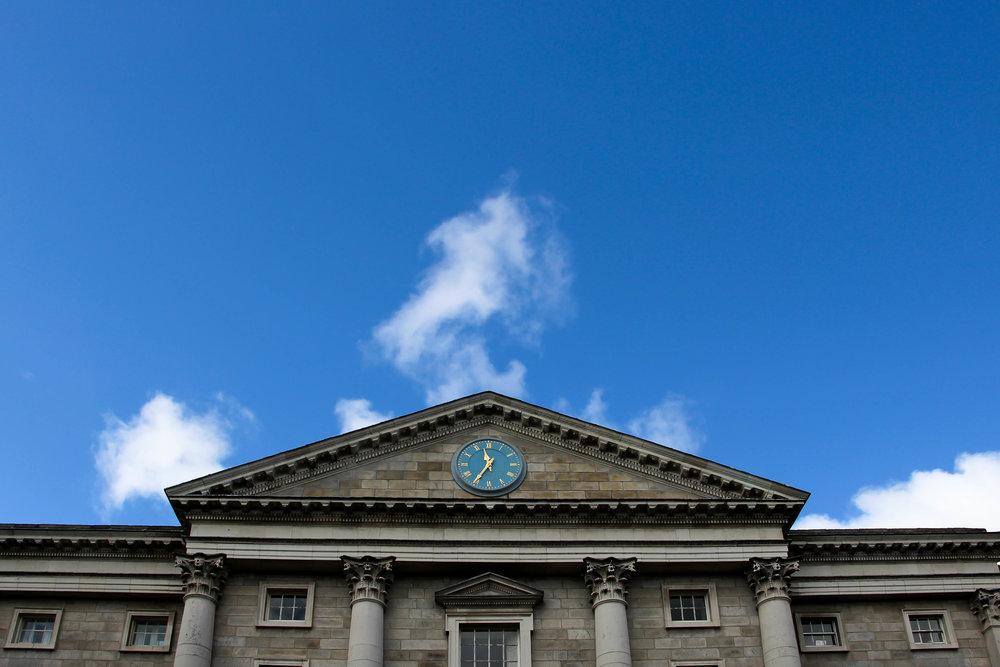 Trinity College, Dublin, Ireland, Europe | www.DoLessGetMoreDone.com |