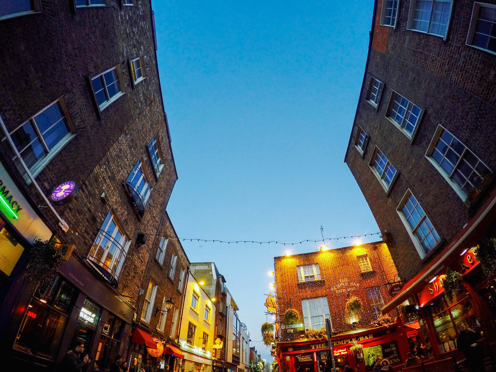The Temple Bar, Dublin, Ireland, Europe | www.DoLessGetMoreDone.com |