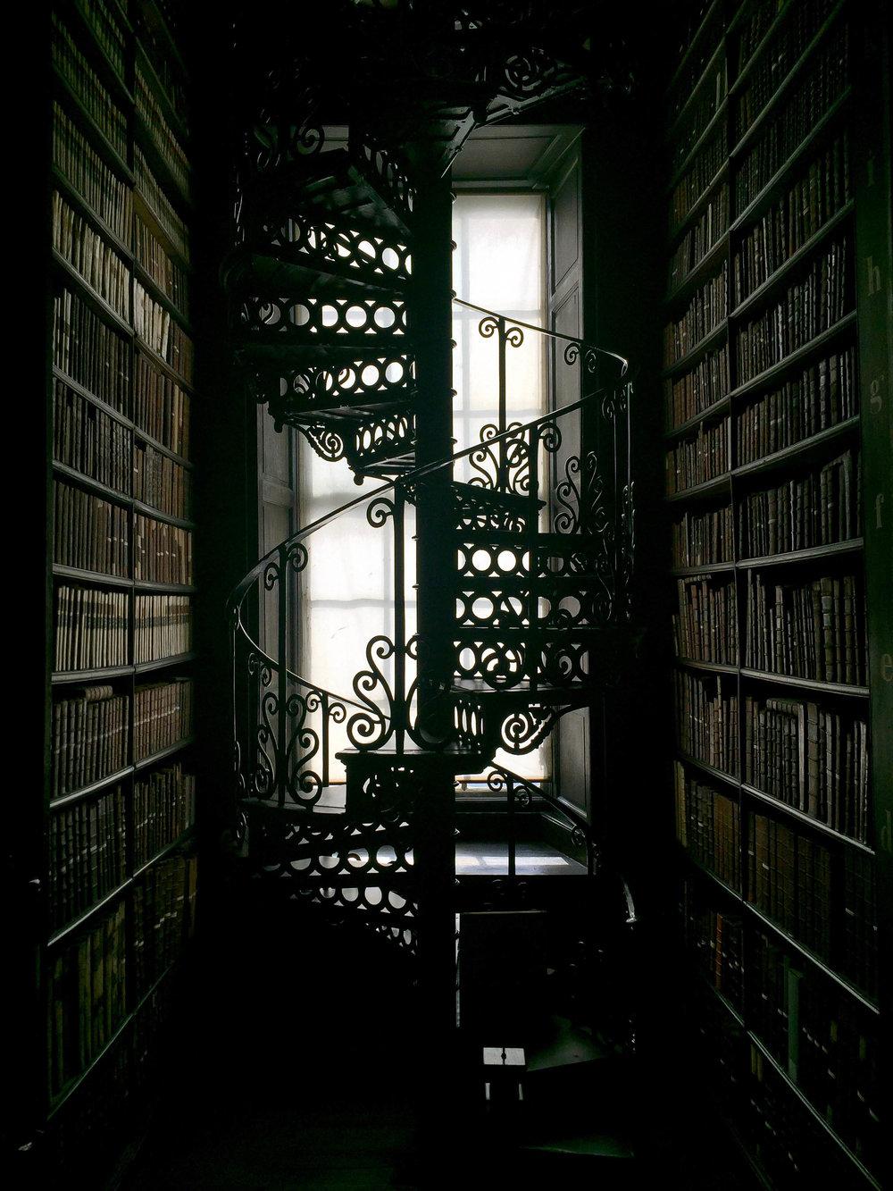 Trinity College Library, Dublin, Ireland, Europe | www.DoLessGetMoreDone.com |