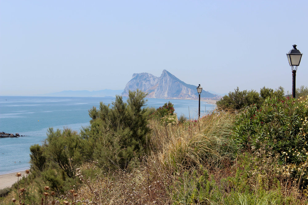 The Rock of Gibraltar. Alcaidesa, Costa del Sol, Andalusia, Spain, Europe | www.DoLessGetMoreDone.com |