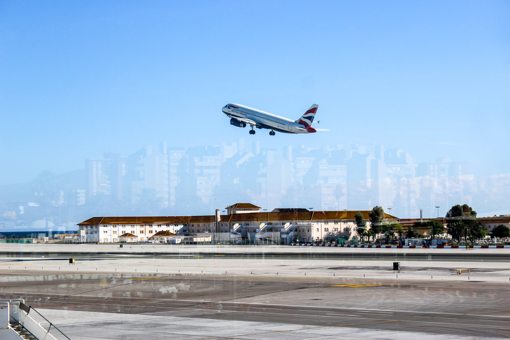 British Airways, Gibraltar International Airport, Gibraltar, British Overseas Territory, Europe | www.DoLessGetMoreDone.com |