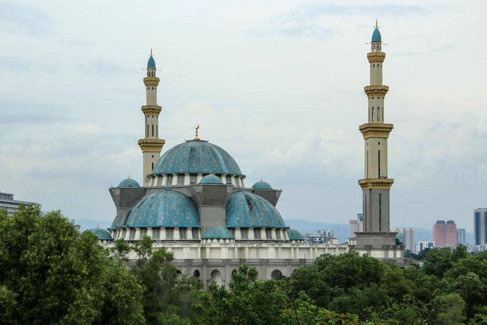 Masjid Wilayah Persekutuan, Kuala Lumpur, Malaysia | DoLessGetMoreDone.com |