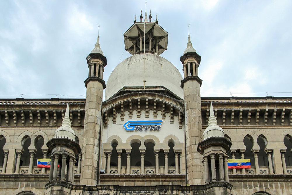 Railway Administration Building, Kuala Lumpur, Malaysia | DoLessGetMoreDone.com |