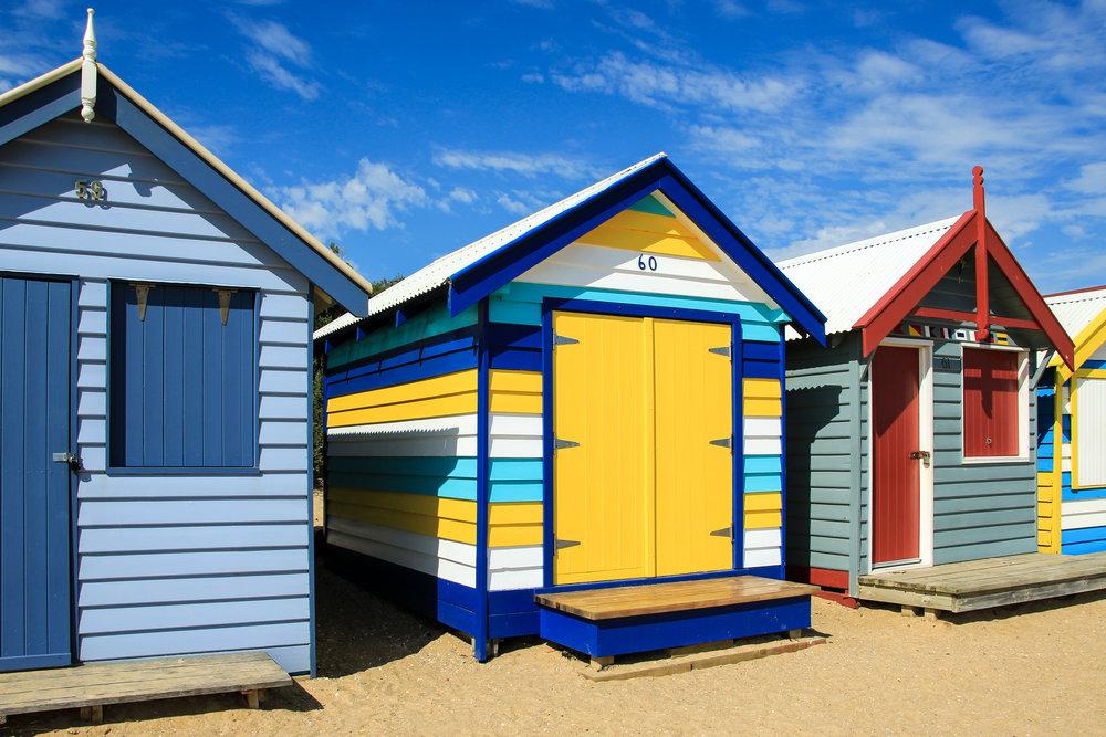 Brighton Beach, Melbourne, Australia | DoLessGetMoreDone.com |