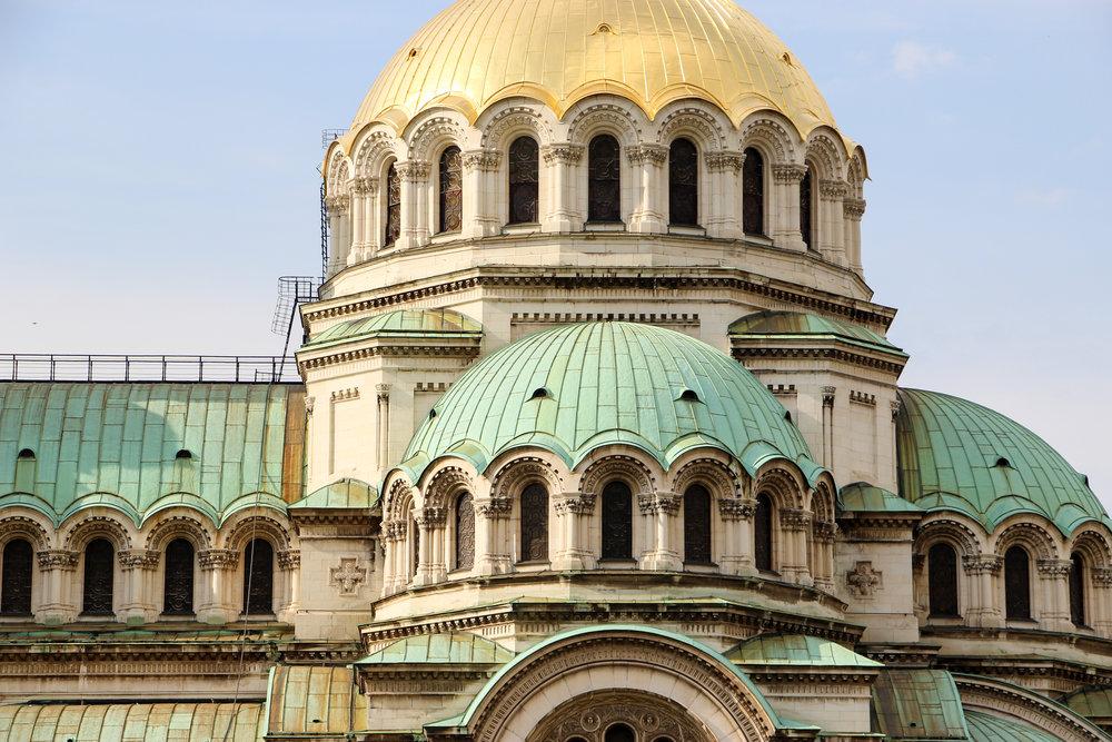 Alexander Nevsky Cathedral, Sofia, Bulgaria, Europe | DoLessGetMoreDone.com |