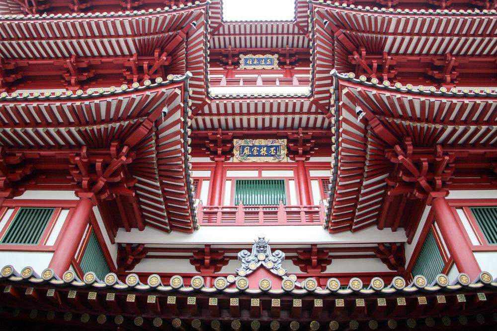 Buddha Tooth Relic Temple, Singapore, Southeast Asia | DoLessGetMoreDone.com |