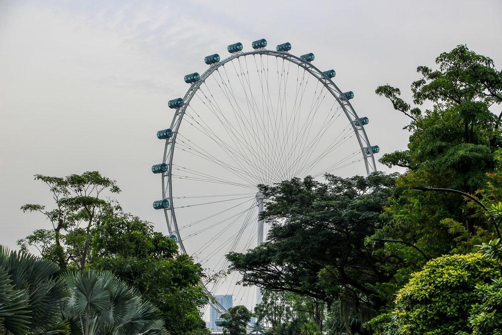 Singapore Flyer, Singapore, Southeast Asia | DoLessGetMoreDone.com |