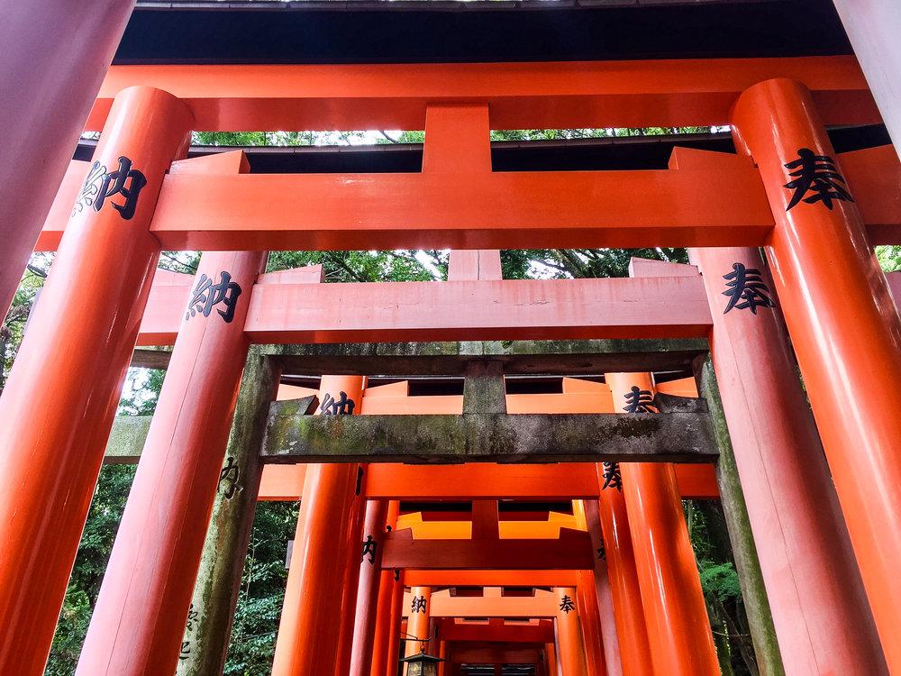 Fushimi Inari-taisha,Kyoto, Japan, East Asia | DoLessGetMoreDone.com |