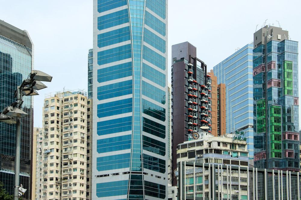 Hong Kong, Hong Kong Island, architecture, window, minimal, Asia | DoLessGetMoreDone.com |
