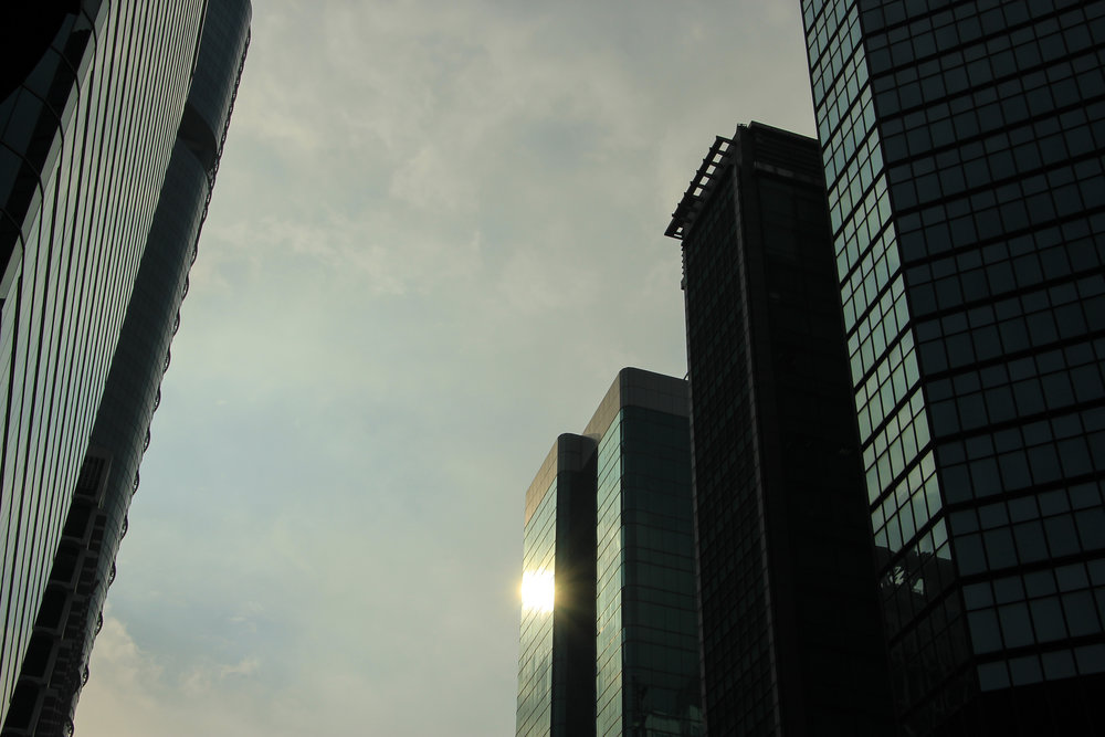 Hong Kong, Hong Kong Island, architecture, sun,Asia | DoLessGetMoreDone.com |