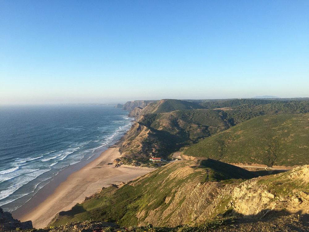 Praia da Cordoama, Portugal, Europe | DoLessGetMoreDone.com | What can we do to make it better?