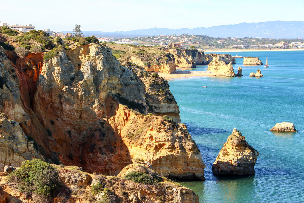 Pinhao Beach, Portugal, Europe | DoLessGetMoreDone.com | What can we do to make it better?