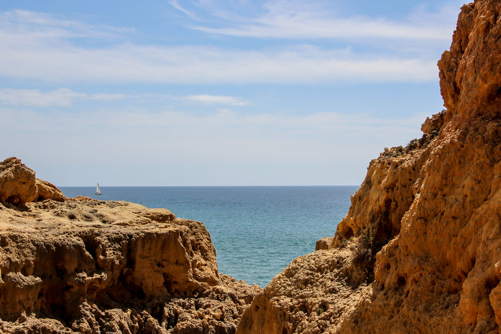 Algar Seco, Portugal, Europe | DoLessGetMoreDone.com | What can we do to make it better?