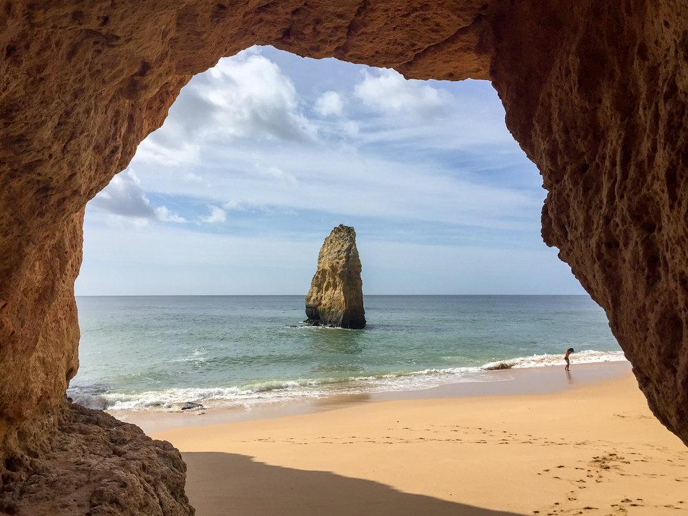 Benagil, Portugal, Europe | DoLessGetMoreDone.com | What can we do to make it better?