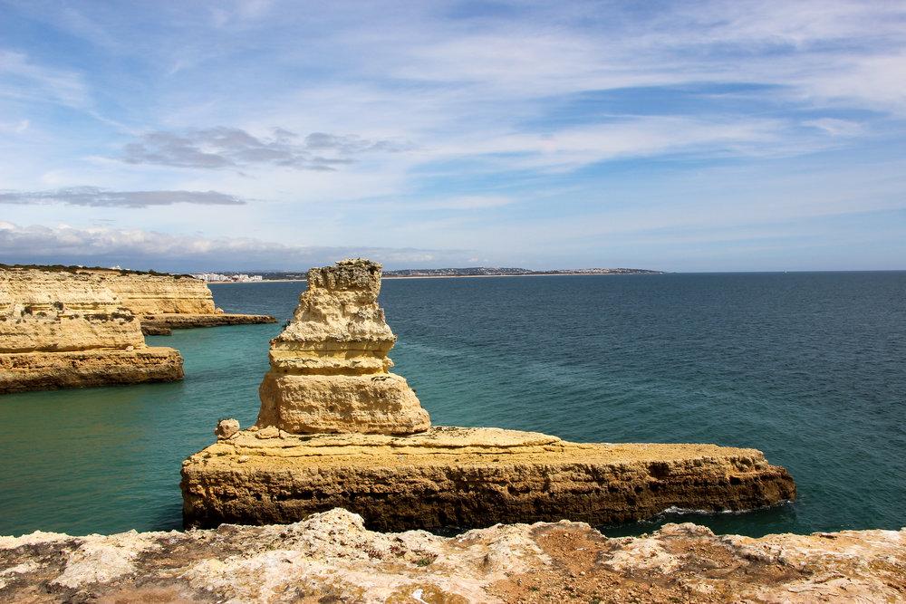 Praia das Fontainhas, Portugal, Europe | DoLessGetMoreDone.com | What can we do to make it better?