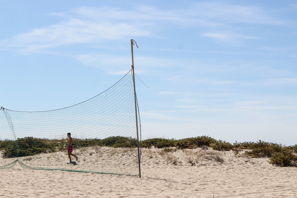 Ilha de Tavira, Portugal, Europe | DoLessGetMoreDone.com | What can we do to make it better?