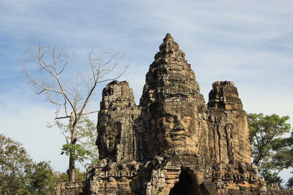 One Moment At A Time | Angkor Thom, Siem Reap, Cambodia, Asia | DoLessGetMoreDone.com |
