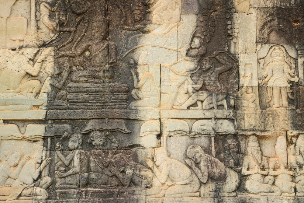 One Moment At A Time   Bayon, Angkor Thom, Siem Reap, Cambodia, Asia   DoLessGetMoreDone.com  