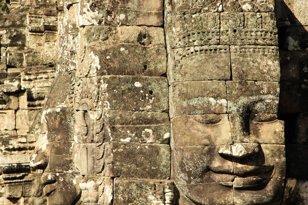 One Moment At A Time | Bayon, Angkor Thom, Siem Reap, Cambodia, Asia | DoLessGetMoreDone.com |