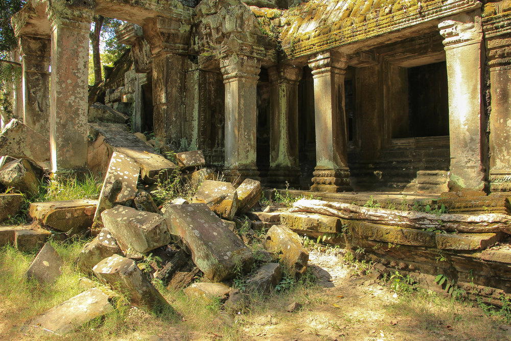 One Moment At A Time | Ta Prohm, Angkor Thom, Siem Reap, Cambodia, Asia | DoLessGetMoreDone.com |