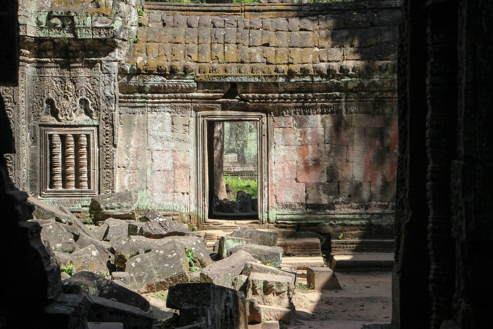 One Moment At A Time   Ta Prohm, Angkor Thom, Siem Reap, Cambodia, Asia   DoLessGetMoreDone.com  