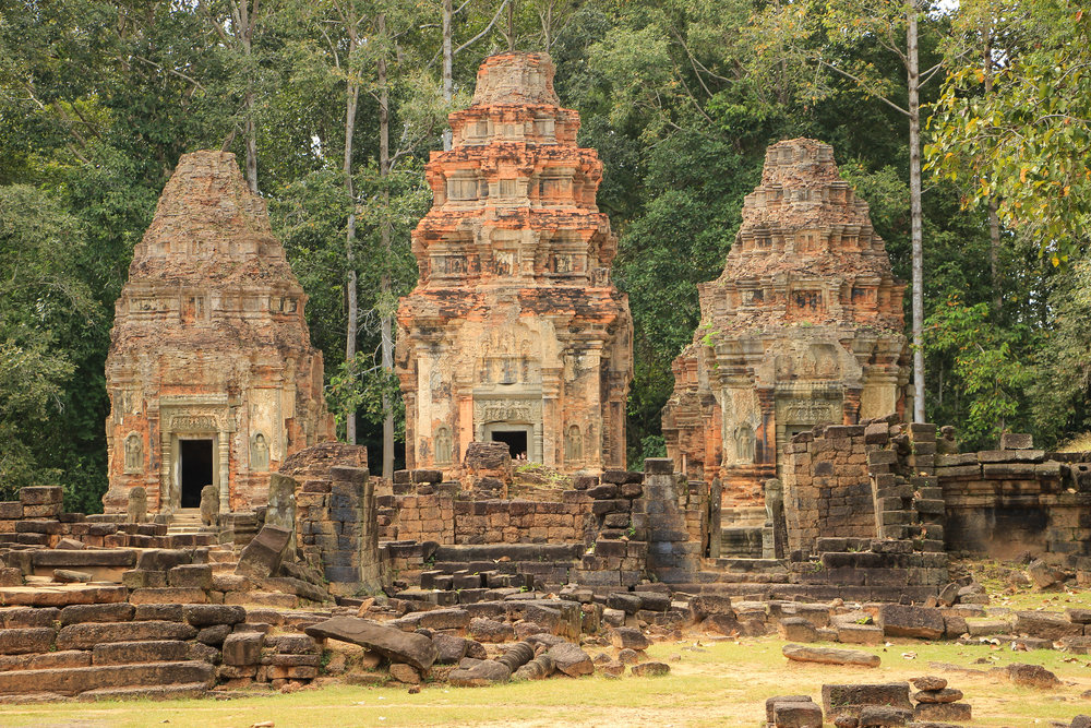 One Moment At A Time | Preah Ko, Angkor, Siem Reap, Cambodia, Asia | DoLessGetMoreDone.com |