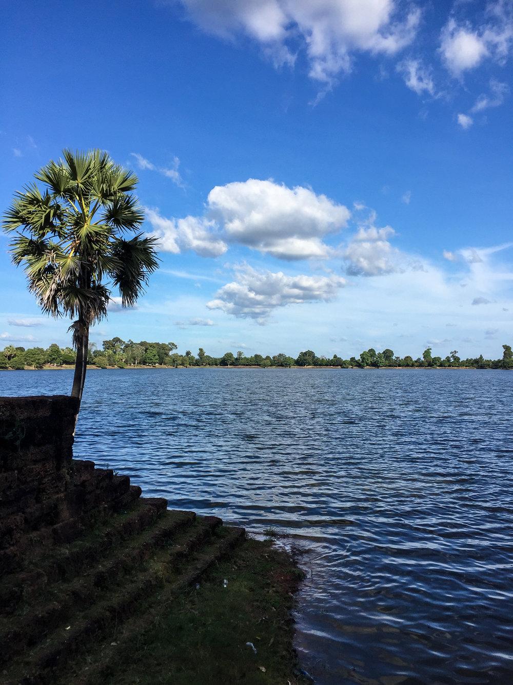 One Moment At A Time | Srah Srang, Angkor, Siem Reap, Cambodia, Asia | DoLessGetMoreDone.com |