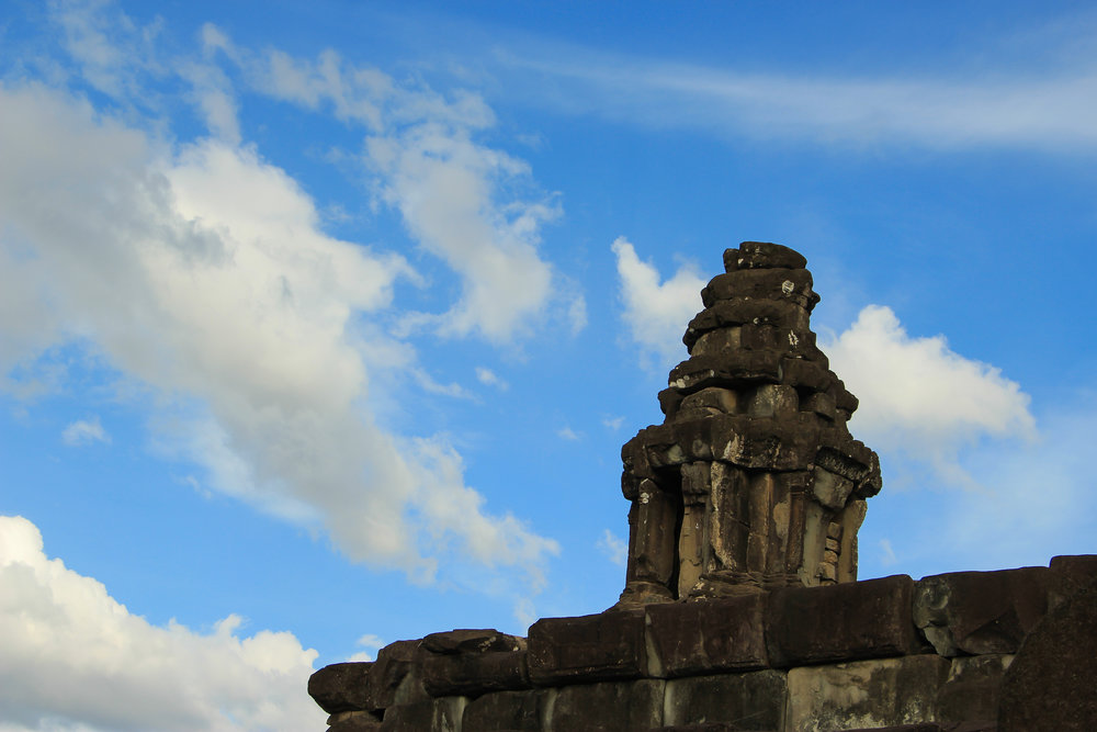 One Moment At A Time | Bakong, Angkor, Siem Reap, Cambodia, Asia | DoLessGetMoreDone.com |