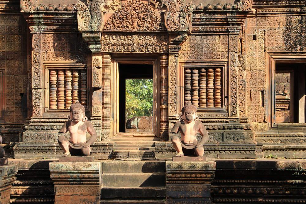 One Moment At A Time   Banteay Srei, Angkor, Siem Reap, Cambodia, Asia   DoLessGetMoreDone.com  