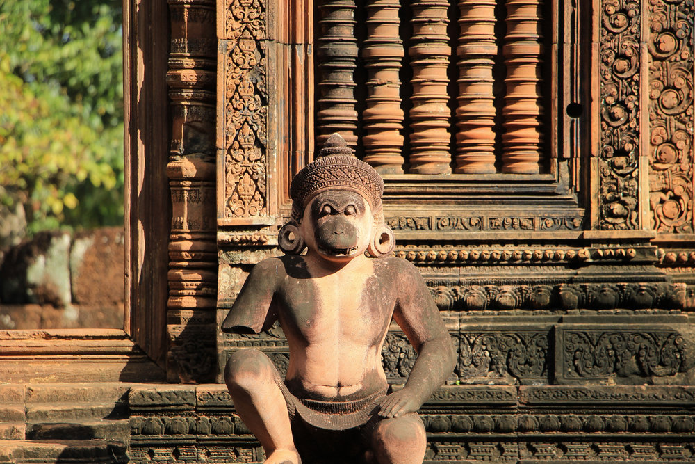 One Moment At A Time | Banteay Srei, Angkor, Siem Reap, Cambodia, Asia | DoLessGetMoreDone.com |